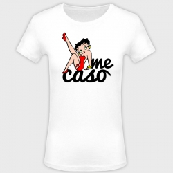 Camiseta despedida de soltera: me caso - betty