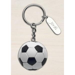 Llavero balón fútbol