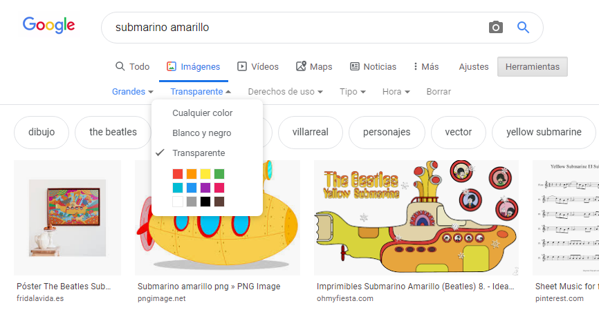 Submarino amarillo