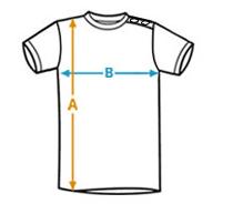 Tamaño camiseta ancho - alto